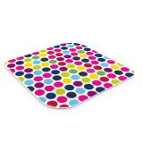 Glass trivet 15.8 x 0.3cm - Dotty