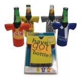 Beer bottle chillers (set of 4) - Design B