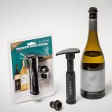 Vaccum wine saver blister pack